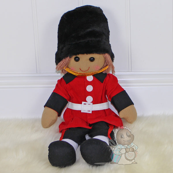 Personalised Rag Doll Guard