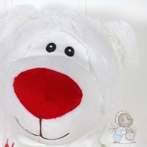 Personalised White Bear