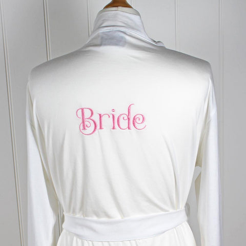 Personalised Ladies Robe