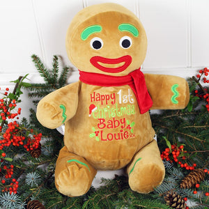 personalised soft toy christmas 2020