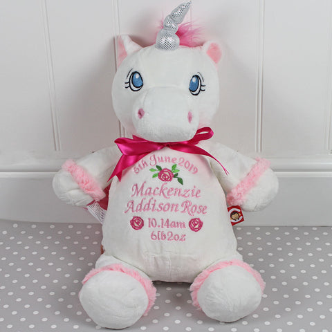 SUPER SIZED 60CM TALL Personalised Unicorn