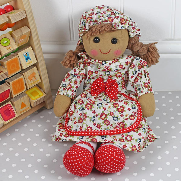 Personalised Rag Doll Vintage Dress Dress