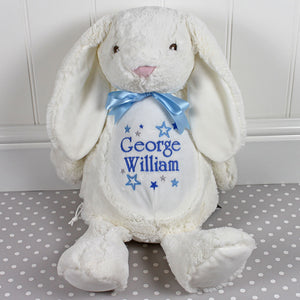 Personalised White Bunny - Mumbles