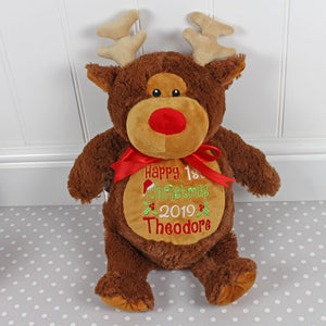 Personalised christmas reindeer 2020