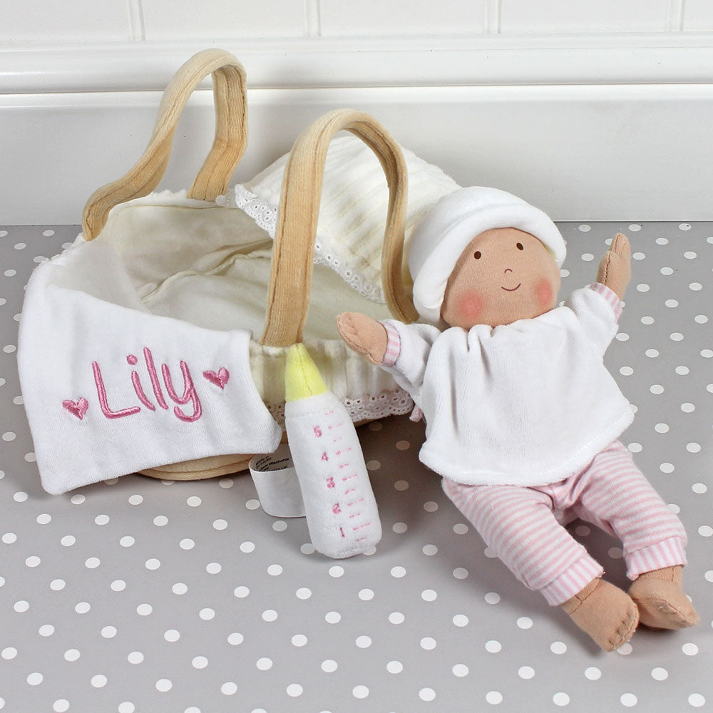 Personalised Baby & Carry Cot