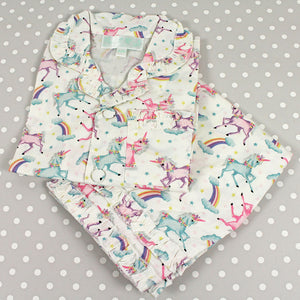 Personalised Unicorn Pyjamas