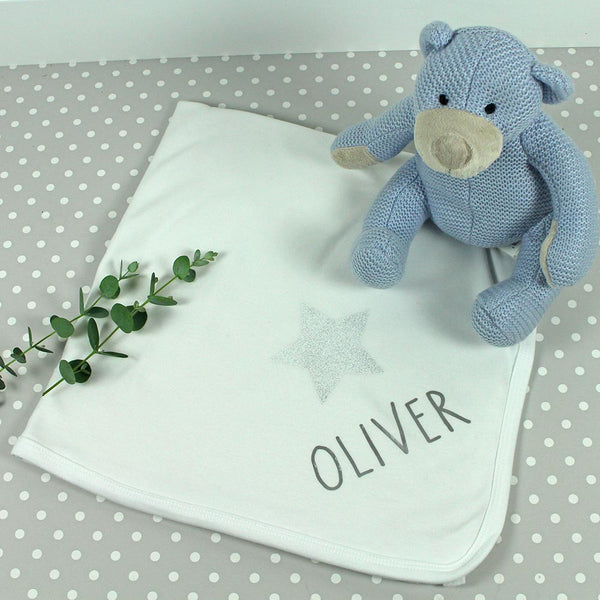 Personalised receiving blanket