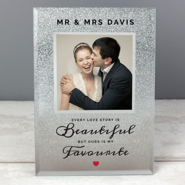 Personalised Photo Frame, Every Love Story...
