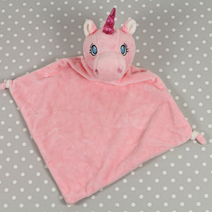 Personalised Blankie - Pink Unicorn