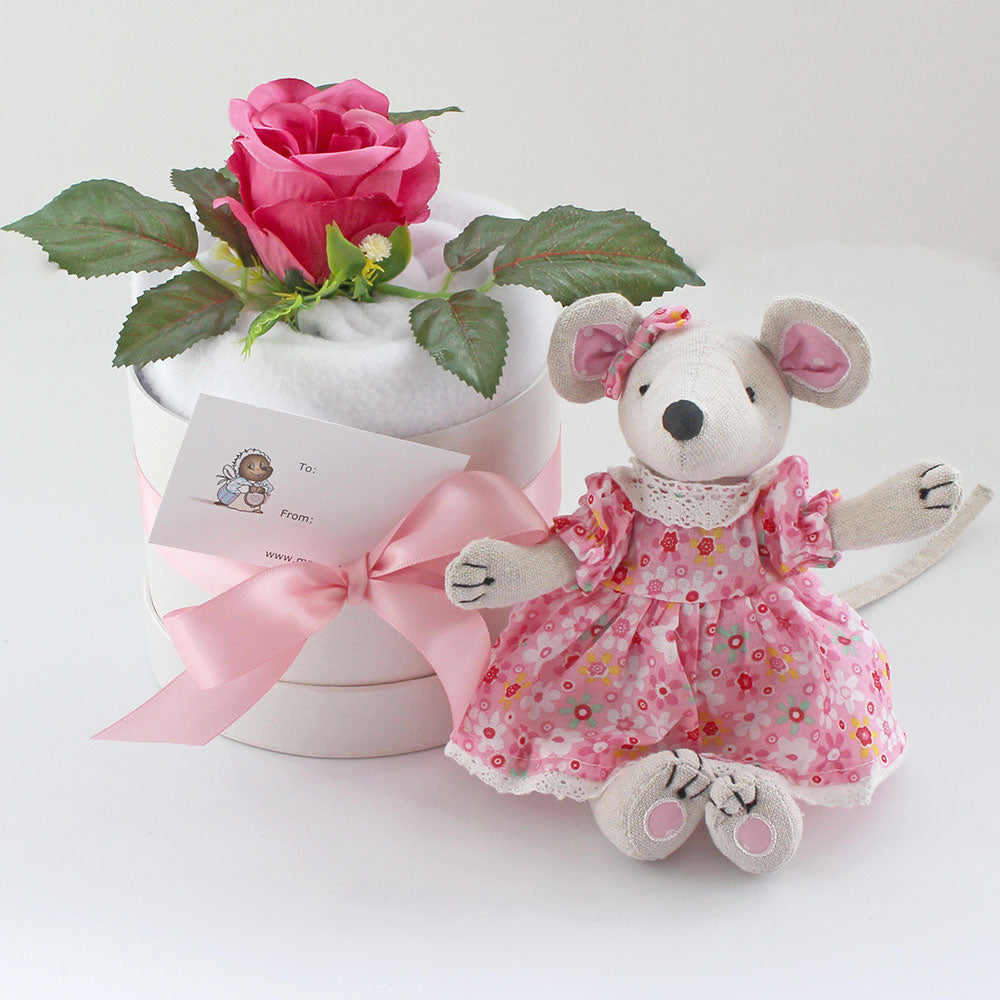 personalised gift set - mini mouse and blanket
