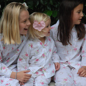 Personalised Floral Pyjamas