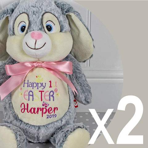 Easter Bunny Design 2 - Two Bunnies For £50