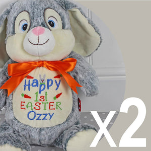 Easter Bunny Design 3 - Two Bunnies For £50