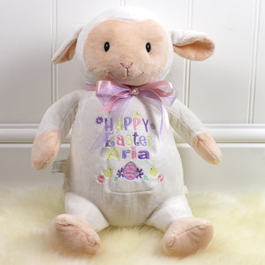 Personalised Easter Lamb