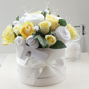 Large Luxury Baby Clothes Bouquet, Lemon
