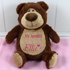 Personalised Ted D Bear