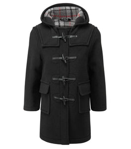 childs duffle coat black