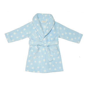 Personalised Blue Star Bathrobe