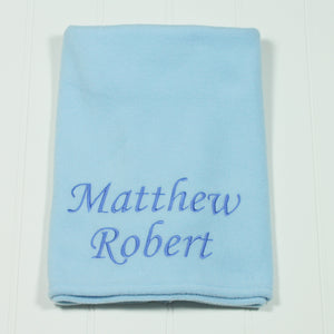 Large Personalised Name Or Message Blanket