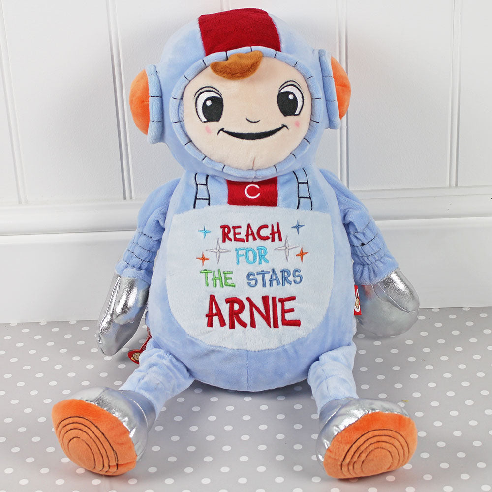 personalised soft toy astronaut