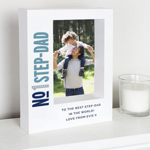 personalised-box-frame---No.1-step-dad-design