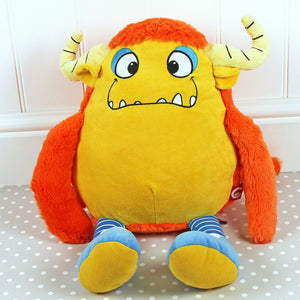 Personalised Monster Orange