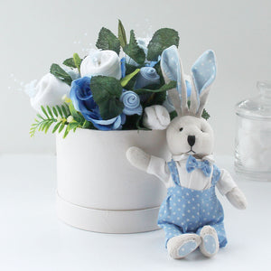 Personalised Gift Set - Mini Bunny & Blanket