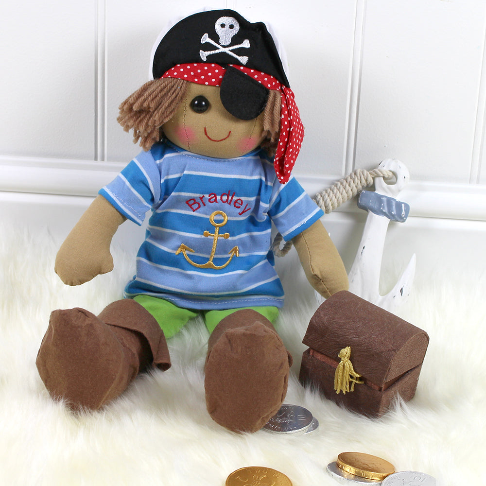 Rag Doll Peter Pirate