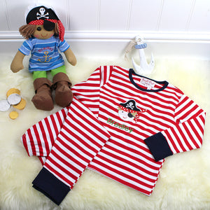 Personalised Pirate Pyjamas