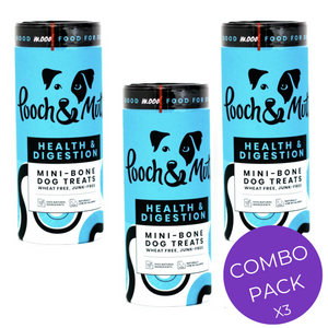 pooch and mutt health and digestion multipack (3 x 125g)