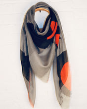 Load image into Gallery viewer, Artisan scarf - Orange