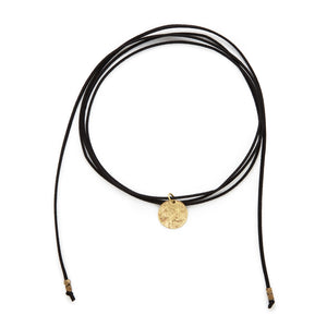 Full Moon Bolo Necklace