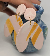 Load image into Gallery viewer, Striped Earrings - Artisan Handmade