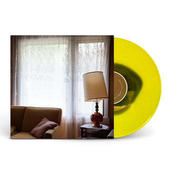 Fragile, As Said Before Trans. Yellow W/ Army Green Swirl