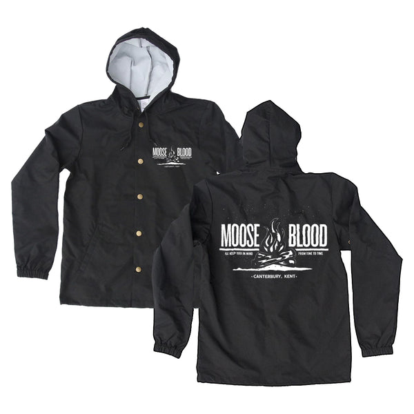 Campfire Black Windbreaker