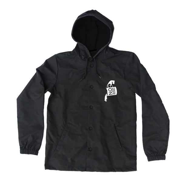 Salt Girl Black Windbreaker