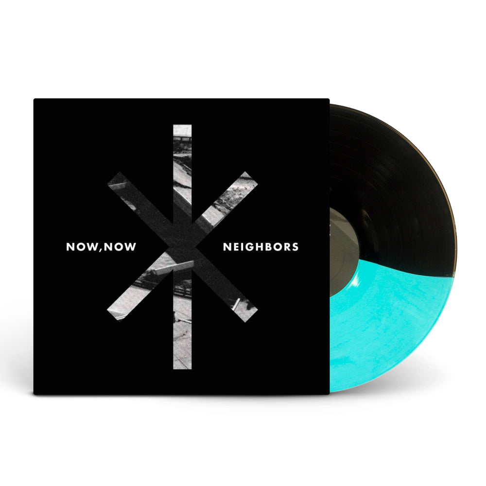 Neighbors: Deluxe Half Seafoam Blue Green / Half Black