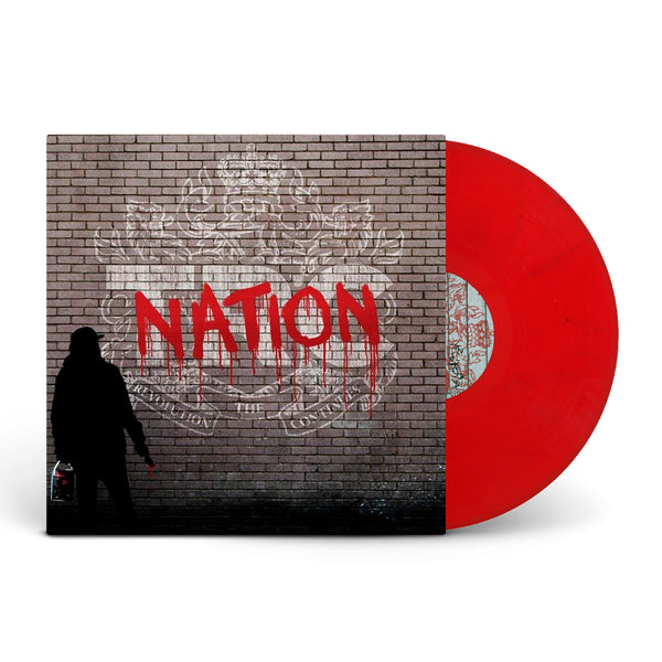 Nation Graffiti Red