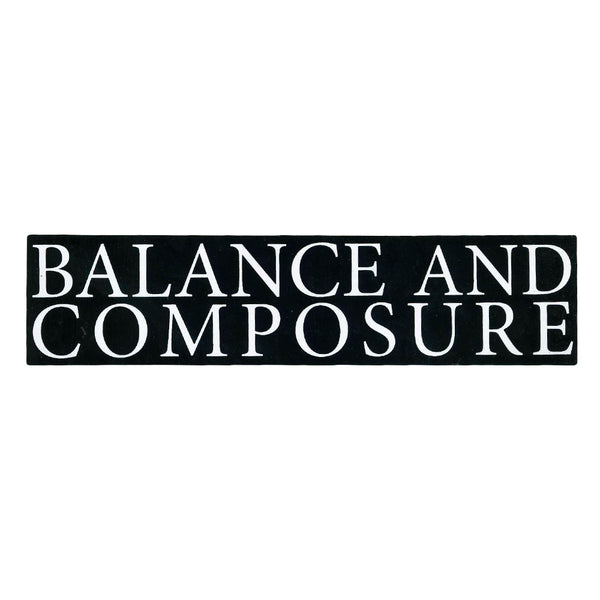 Balance And Composure Logo