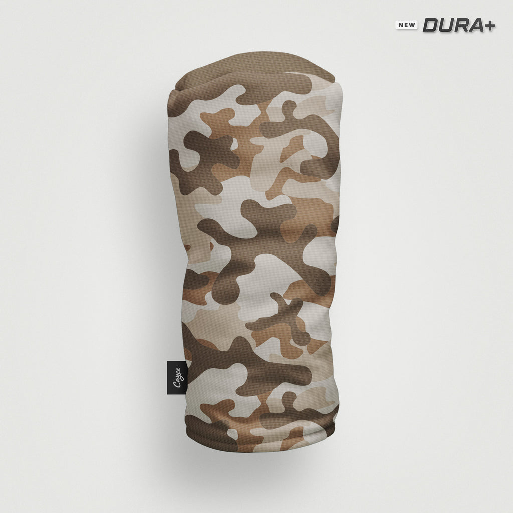 Camo headcover in desert colorway (4491808309327)