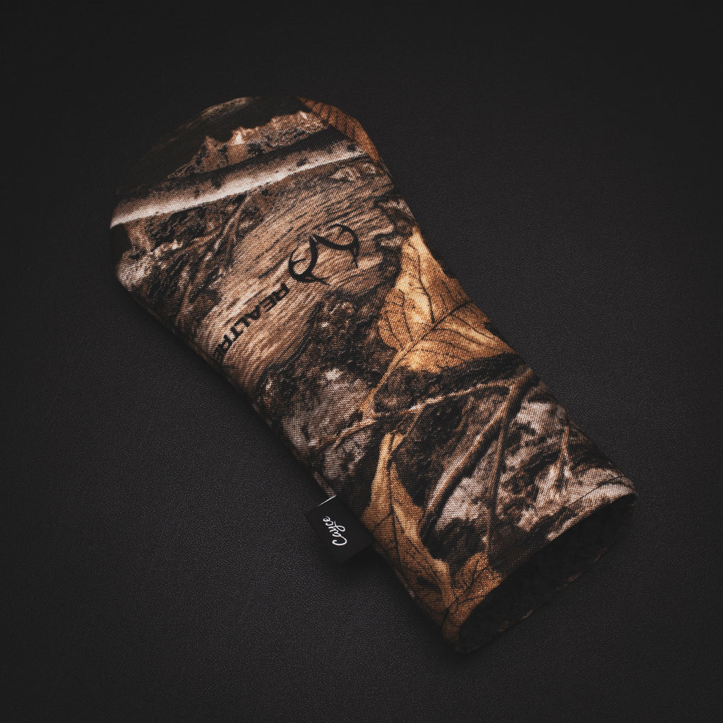Realtree Camo hybrid headcover from Cayce Golf