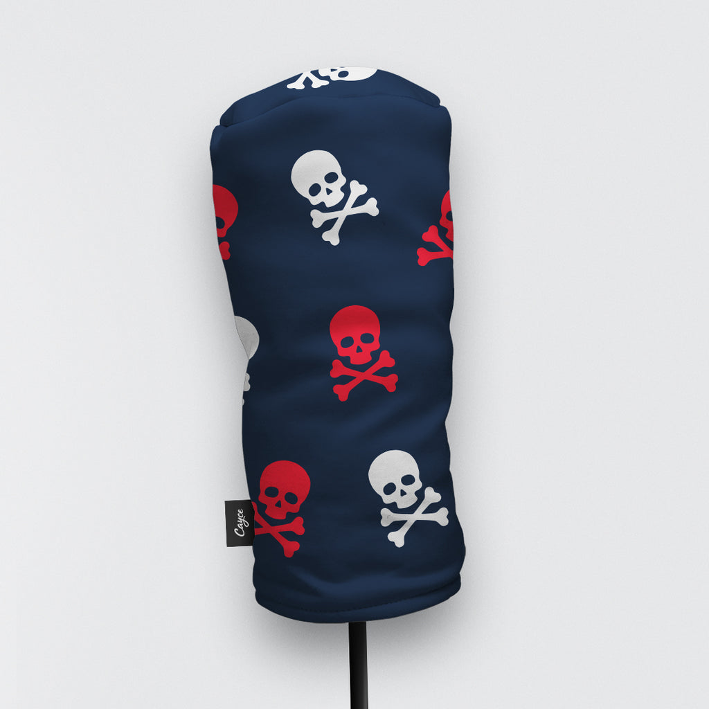 Skull and Crossbones Head Cover