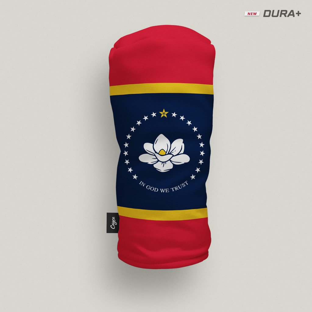 New Mississippi State Flag headcover from Cayce Golf