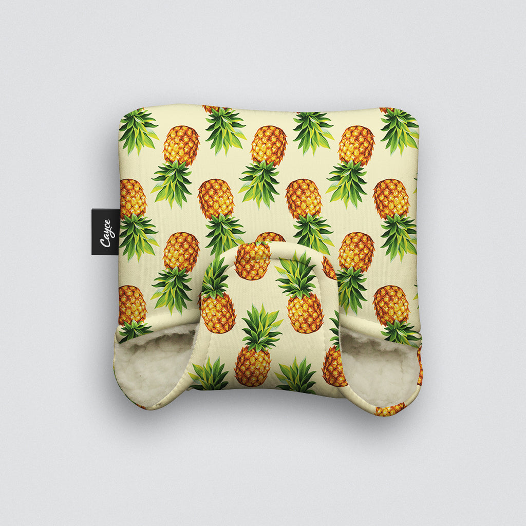 Pineapples Mallet Putter Cover
