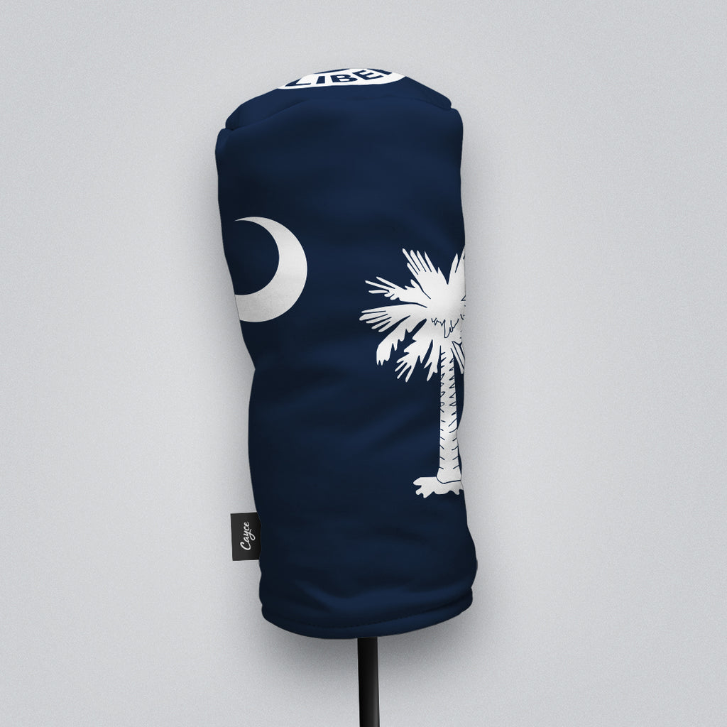 South Carolina Flag Headcover with a Moultrie Flag Cap Design