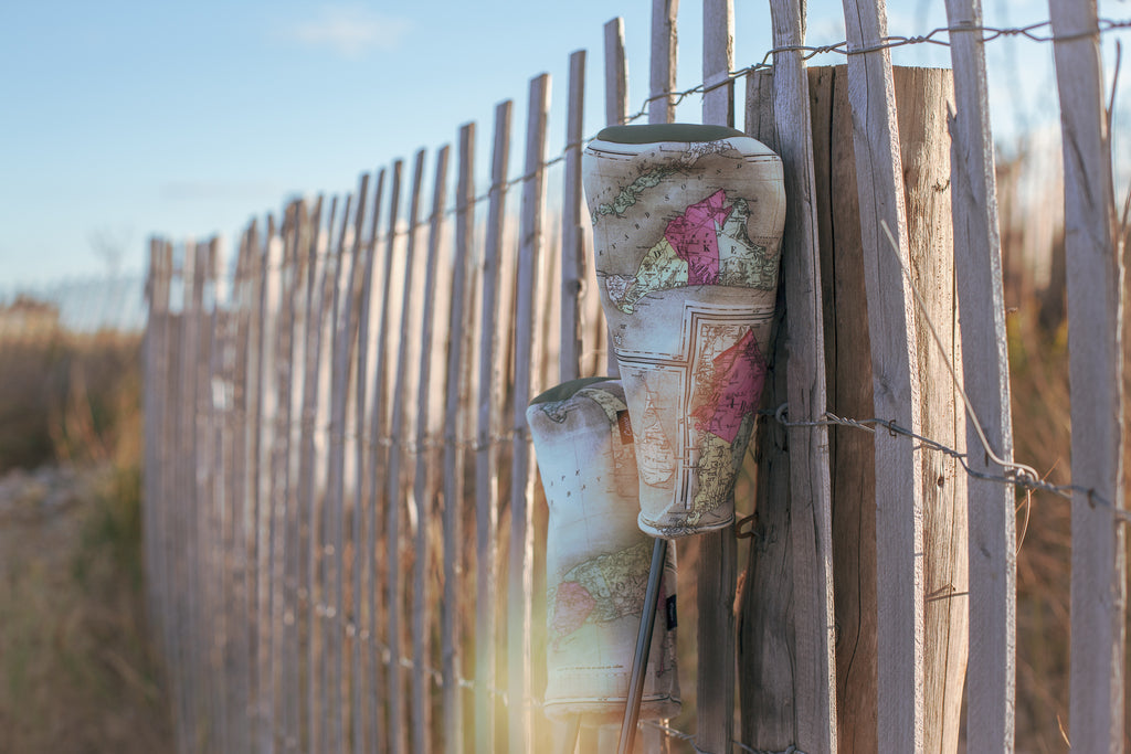 Cape Cod Headcovers on a beach