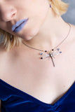 Lullaby necklace - dragonfly wing