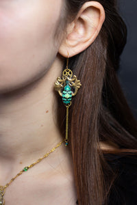 "Boucles d'oreille ""Lotus"" Or"