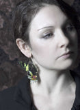 "Boucles d'oreille ""Nymphe"" - Sunseth Moth"