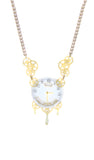 Moriarty necklace - White dial